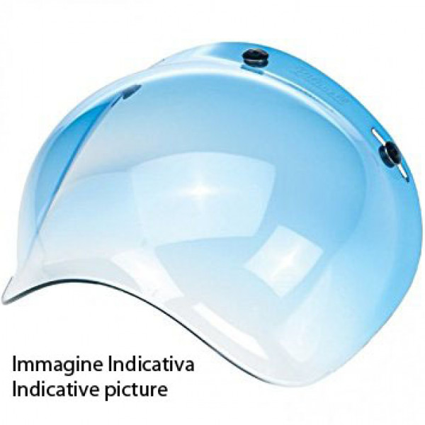 Airoh Antiscratch Bubbole Visor For RIOT GARAGE helmet blue