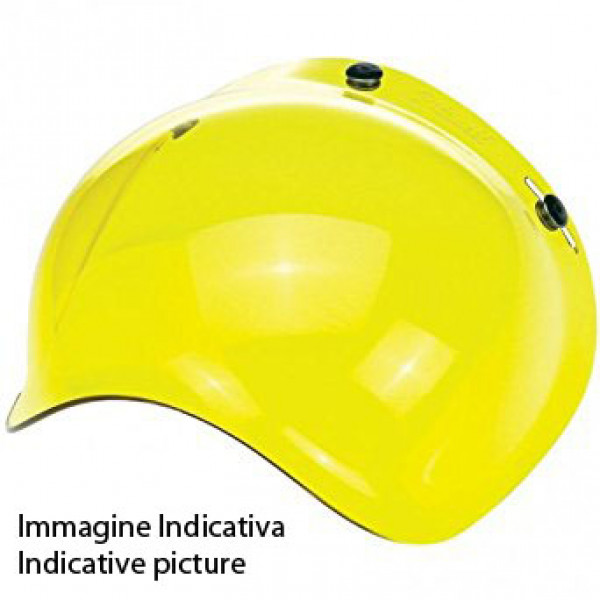 Airoh Antiscratch Bubble Visor For RIOT GARAGE helmet yellow
