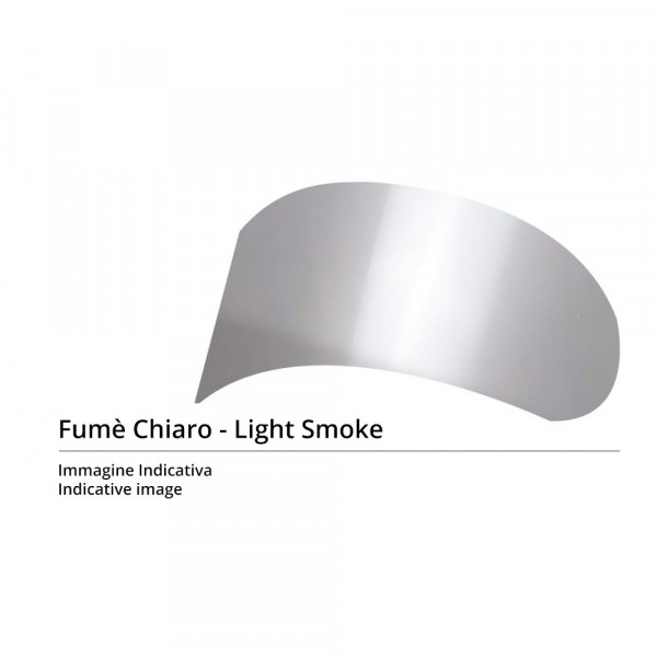 Shark clear smoked visor for RS2 - RSR - RSR2 - RSX helmets