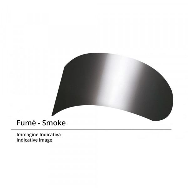 Suomy dark smoke visor for Fazer Gun Wind Ventura Explorer