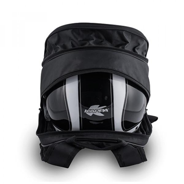 Kappa LH210 backpack 20 lt black orange