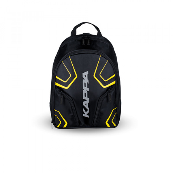 Kappa LH210 backpack 20 lt black fluo yellow
