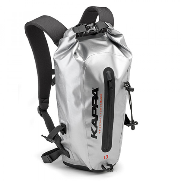 Kappa WA408S backpack 13 lt silver