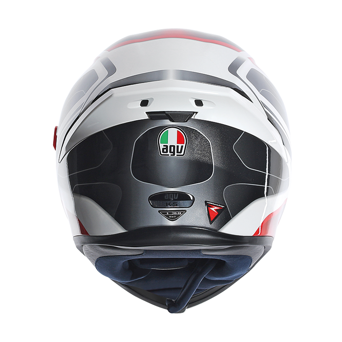 AGV K5 Transformer full face helmet White Black RED 2a9638a89