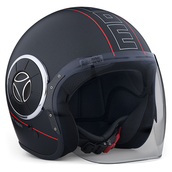 e9167086a05b Jet Helmet Momo Design Mangusta Black Frost