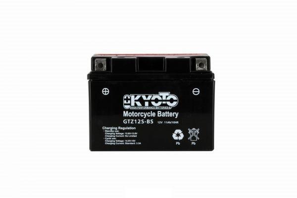 Kyoto battery Ytz12s-bs X4 - 12v 11ah - L 150mm W 87mm H 110mm - with acid no maintenance