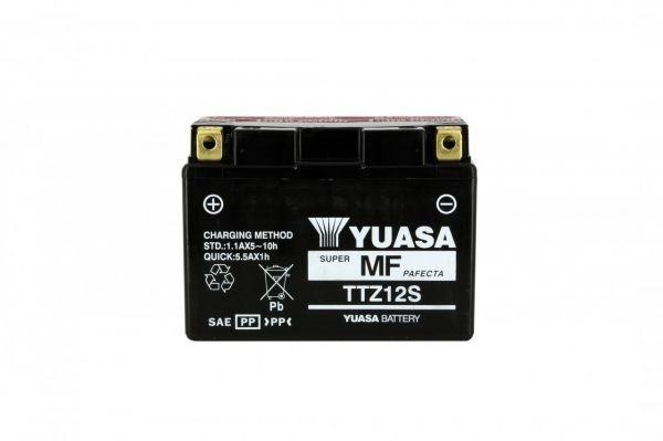 Yuasa battery TTZ12-S X5 AGM - 12v 11ah - L 150mm W 87mm H 110mm - with acid