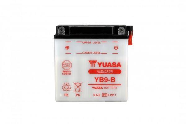 Yuasa battery Yb9-b X5 - 12v 9ah - L 137mm W 76mm H 140mm