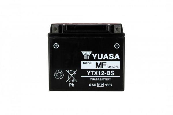 Yuasa battery Ytx12-bs X4 - 12v 10ah - L 150mm W 87mm H 131mm - with acid