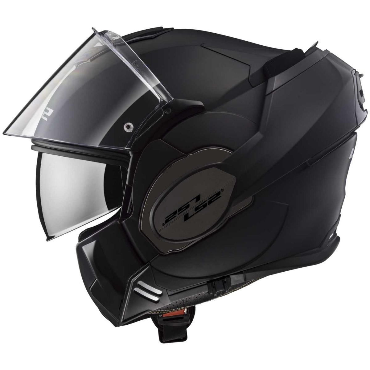 LS2 Caschi moto VALIANT MAT Nero