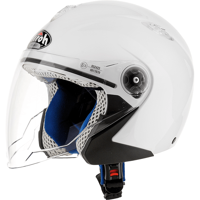 Airoh Mr Jet  Baby JUNIOR helmet white gloss