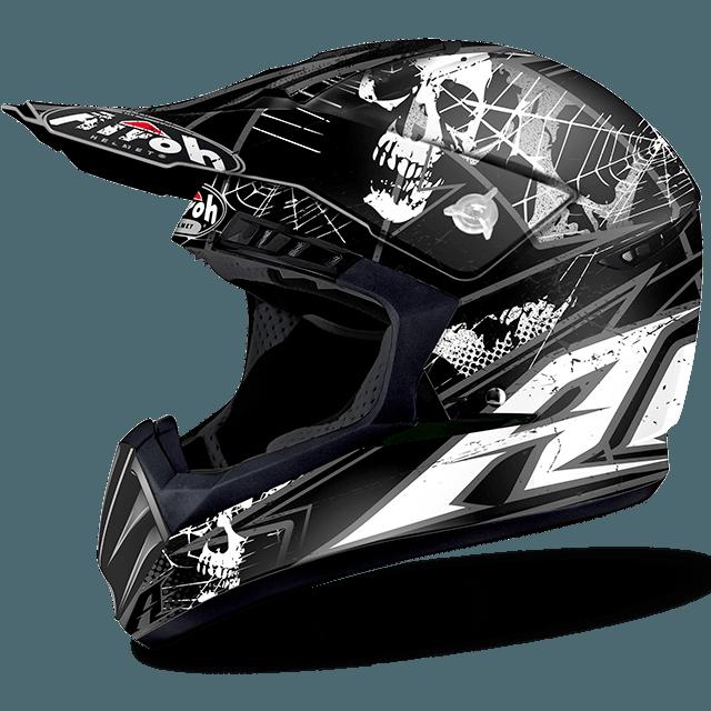 Airoh Switch Scary off road helmet black matt