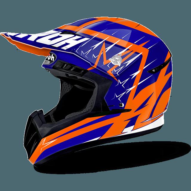 Airoh Switch Startruck off road helmet blue gloss