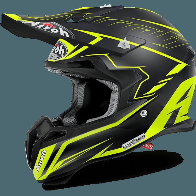 Airoh Terminator 2.1 S Slim off road helmet yellow matt