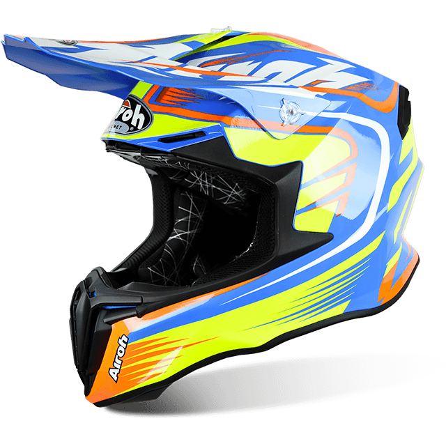 Airoh Twist  Mix off road helmet gloss