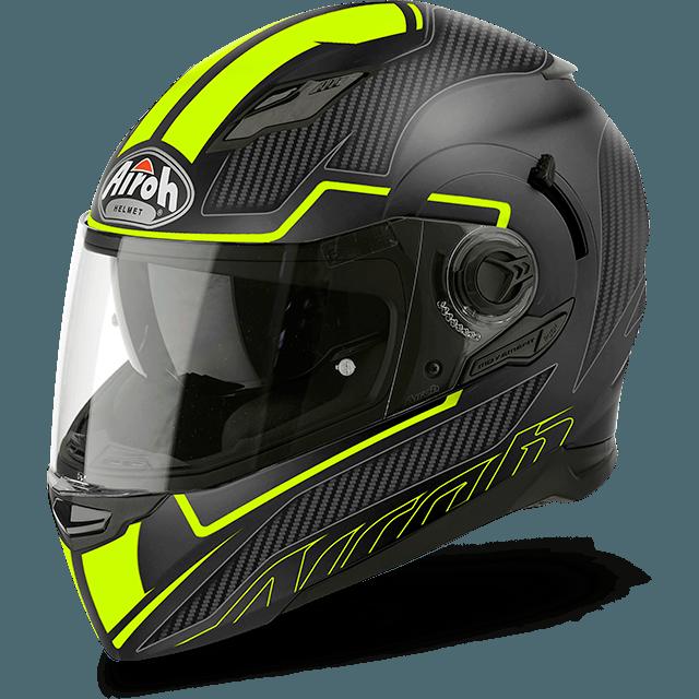Airoh Movement S Pinlock Included Faster full face helmet yellow matt