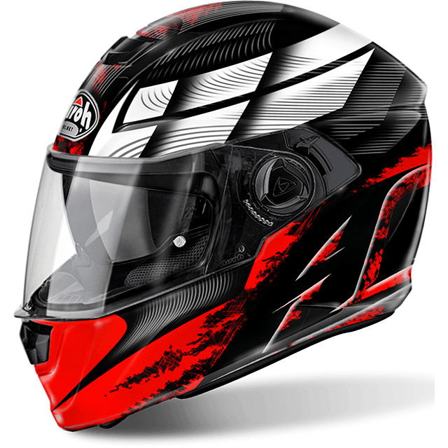 Airoh Storm Pinlock Ready Starter full face helmet red gloss