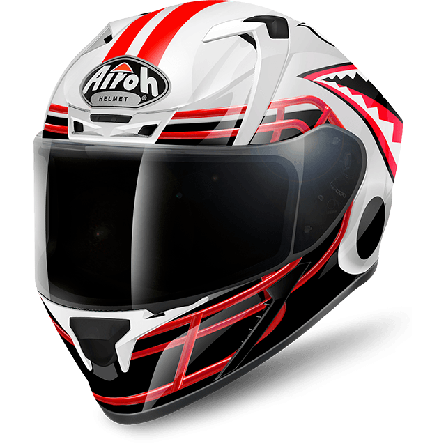 Airoh Valor Pinlock Ready  Touchdown full face helmet gloss