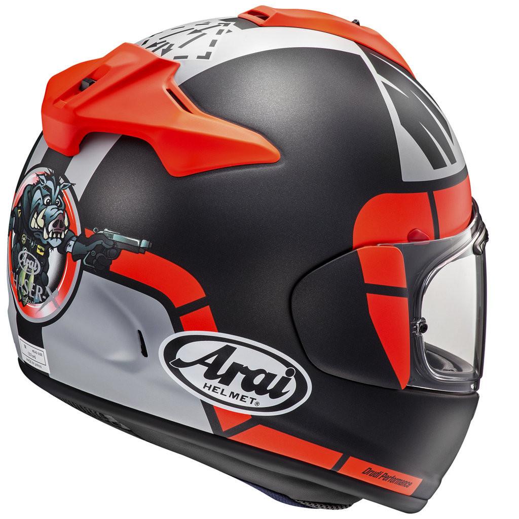 52f24f0a Arai Full face helmet CHASER-X MAVERICK GP VINALES RACE fiber