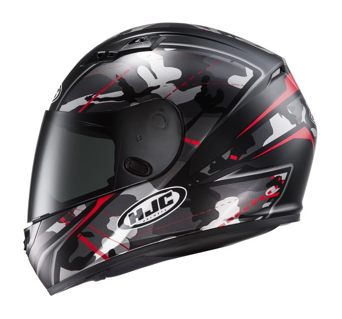 HJC CS-15 Songtan MC1SF full face helmet Camouflage black red cf7b097c8