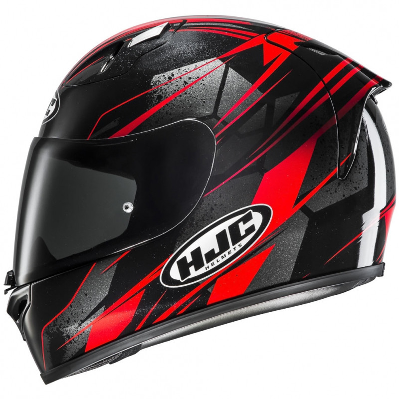 Hjc Fg 17 >> Hjc Fg 17 Toba Fiber Full Face Helmet Mc1 Black Red