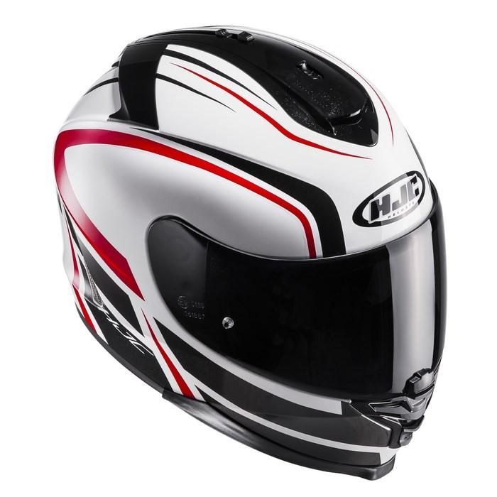 HJC IS-17 Arcus Helmet Red Black, Large MC-1