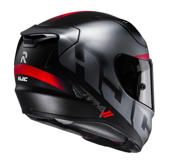 8847e57c HJC RPHA 11 Spicho MC5SF full face helmet black gray red