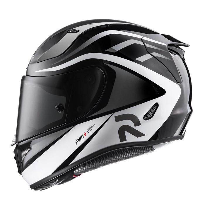 7c43d903 HJC RPHA 11 Vermo MC5 full face helmet black white gray