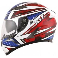 KYT full face helmet Falcon All Stars blue red
