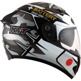 KYT Full Face Helmet Falcon Espargaro Replica Grey