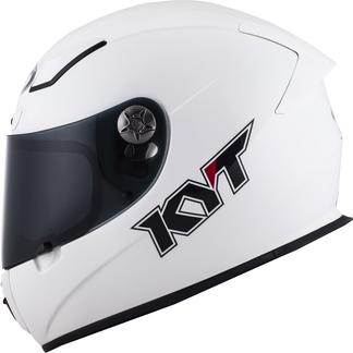 KYT full face helmet KR-1 Plain fiber white