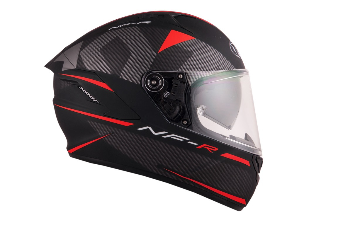 Kyt full face helmet NF-R Logos matt red