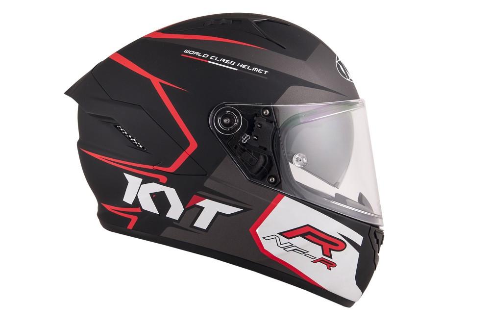 Kyt Full Face Helmet NF R Track Matt Grey