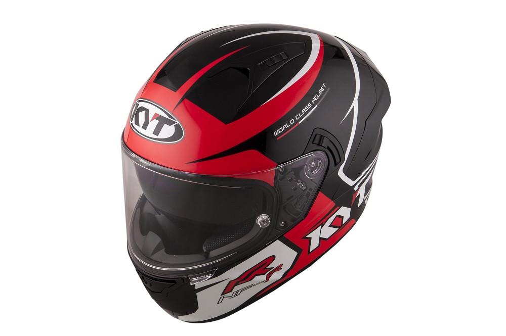 Kyt Full Face Helmet NF R Track Red