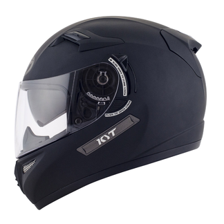 KYT full face helmet Venom Plain matt black