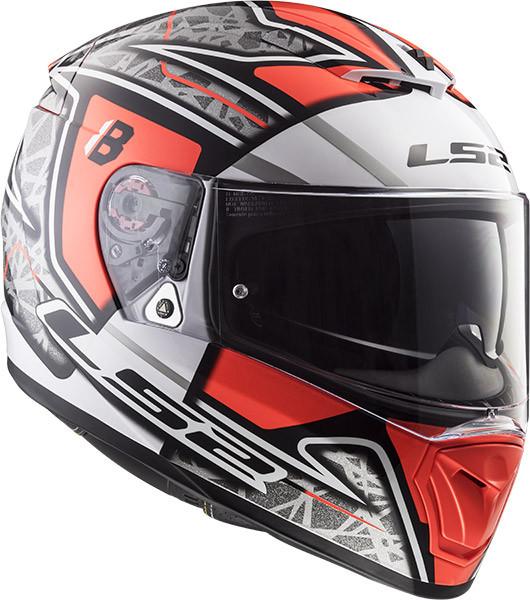 547d95c8 LS2 FF390 BREAKER BARBERA CHALLENGE full face helmet