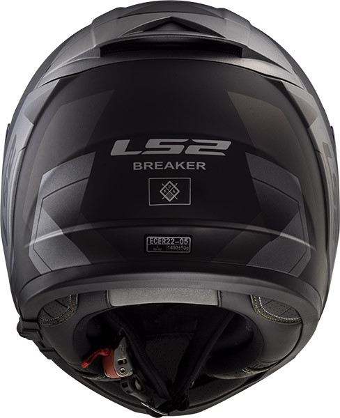 4dd9b966 LS2 FF390 BREAKER PHYSICS full face helmet matt black titanium