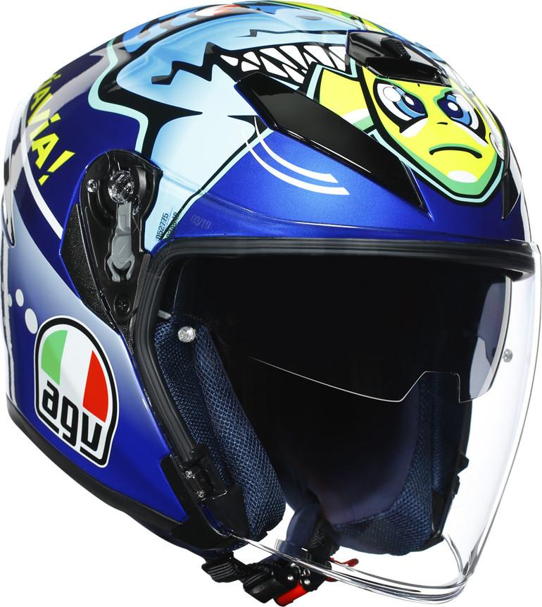 Agv K 5 Jet Top Jet Helmet Rossi Misano 2015