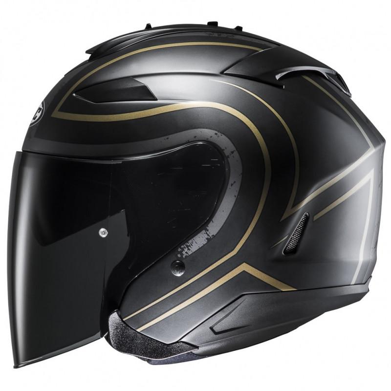 HJC IS-33 II Apus MC-9SF Open Face Motorcycle Helmet