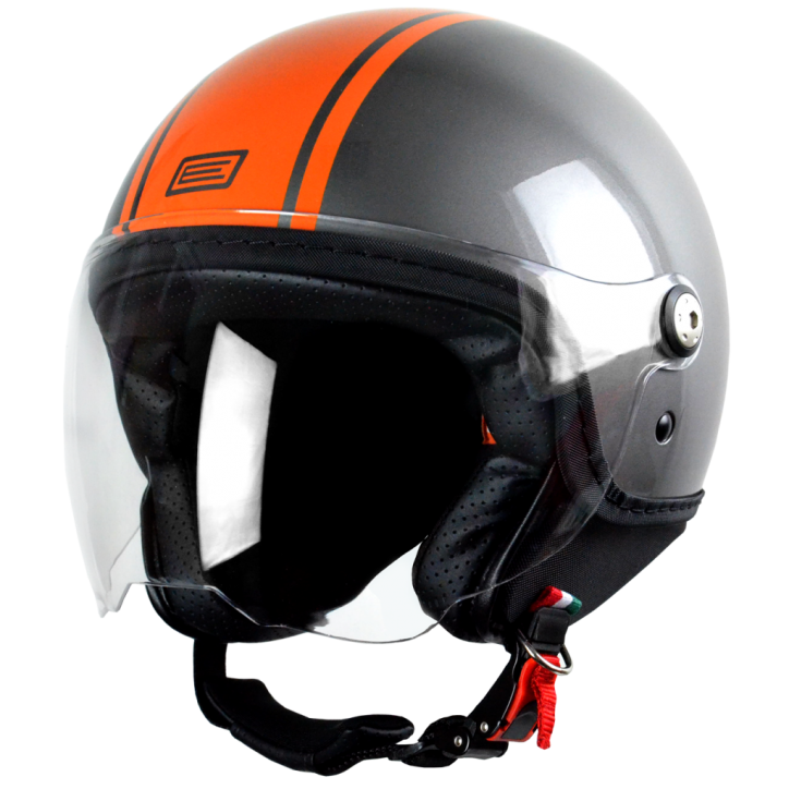 Origine jet helmet Mio Dandy orange