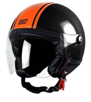 Origine jet helmet Mio Dandy black orange