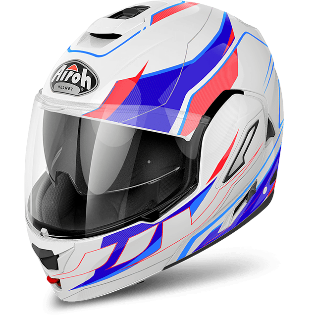 Airoh Rev Antifog Visor  Revolution  flip up helmet gloss