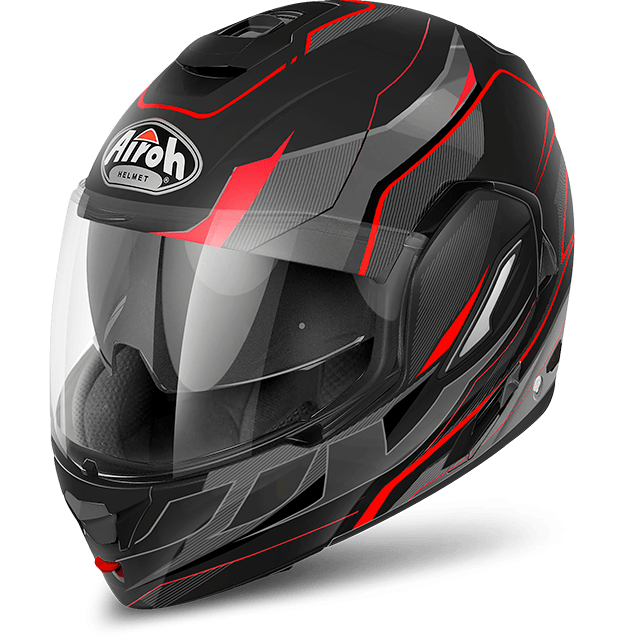 Airoh Rev Antifog Visor  Revolution  flip up helmet black matt