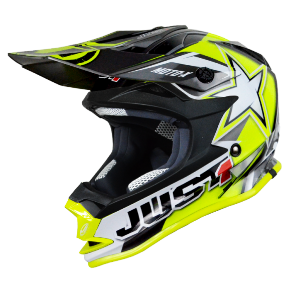 Just1 cross kid helmet J32 Moto X yellow