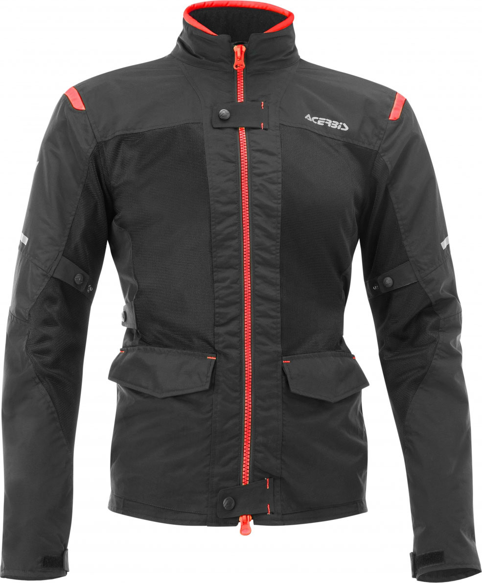 2ae048c5 Acerbis Ramsey My Vented 2.0 long jacket Black Red