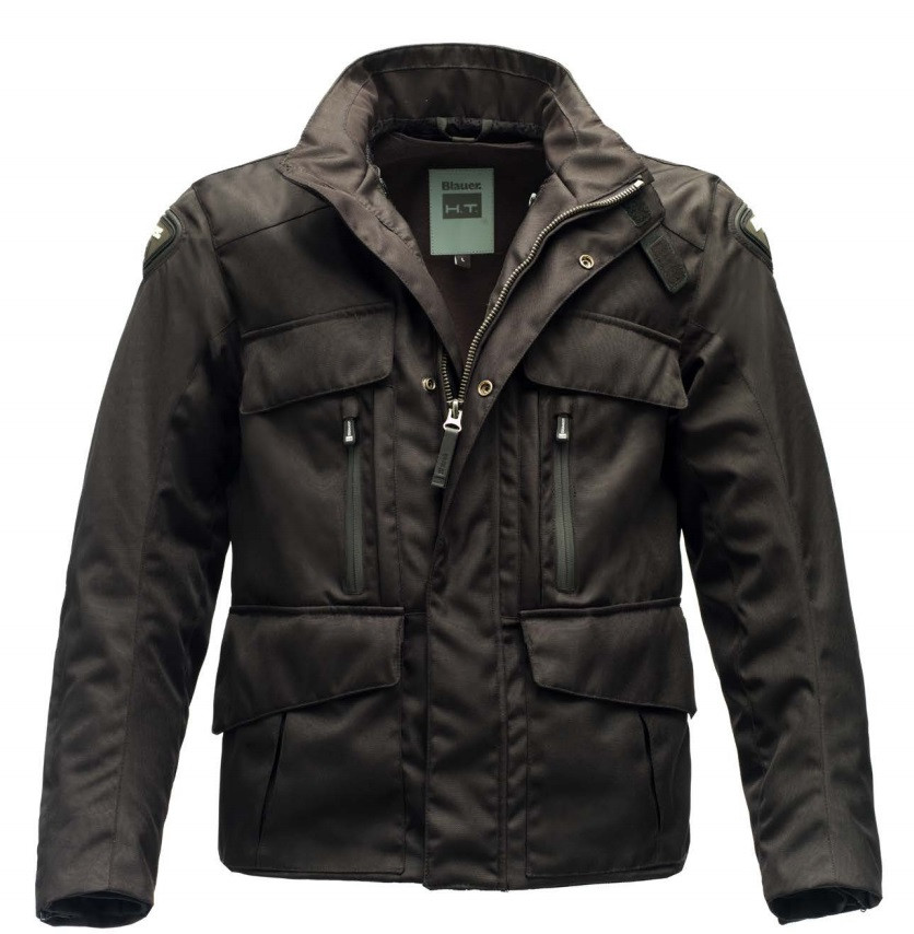 24f804268 Blauer Kaleido jacket cordura Black