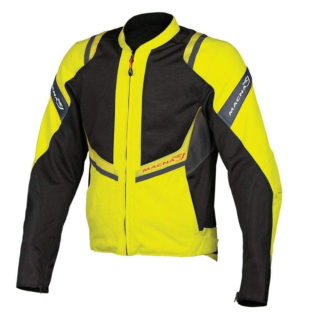 Macna summer jacket Flare black fluo yellow