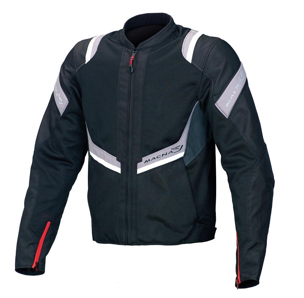 Macna summer jacket Flare black light grey