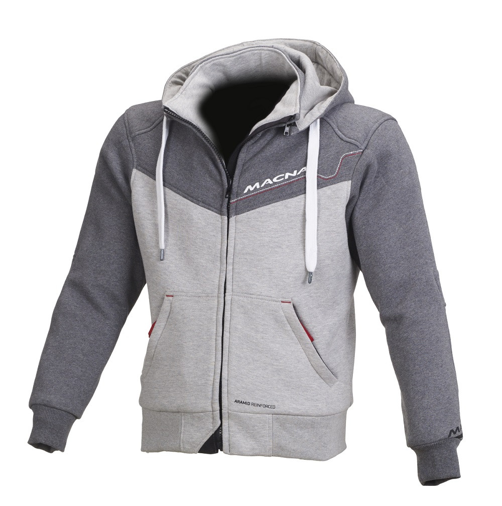 Macna summer jacket Freeride light grey dark grey