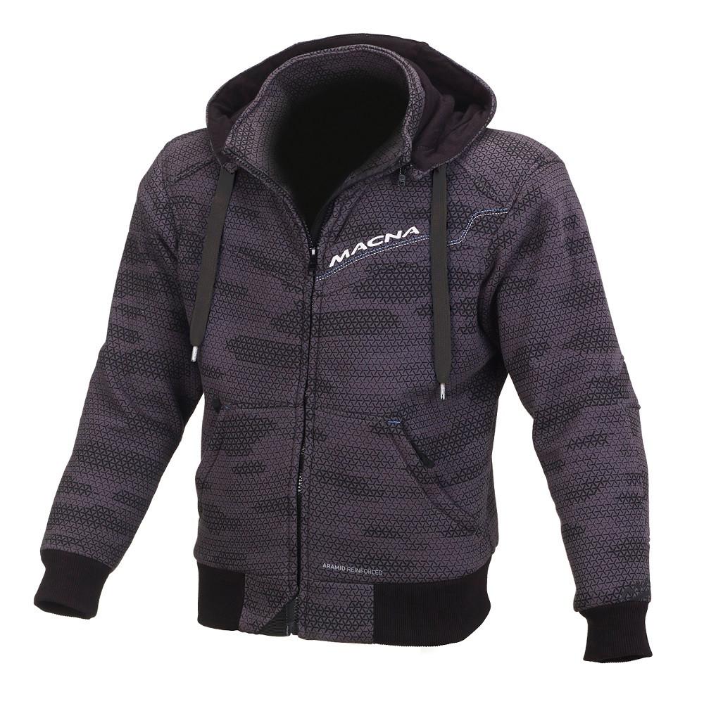Macna summer jacket Freeride black camo grey